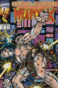 Marvel Comics Presents #82 (Newsstand) FN; Marvel | save on shipping - details i