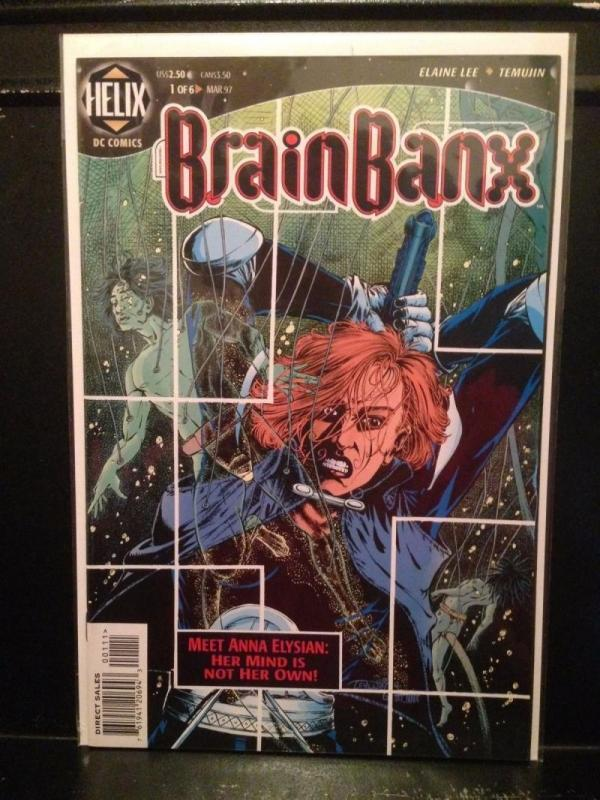 BRAIN BANX #1, NM, Elaine Lee, Helix, 1997, more in store