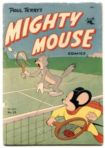 Mighty Mouse #33 1952- Golden Age comic G/VG