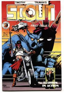 Scout #1 1985-Eclipse-Comic Book First issue nm-