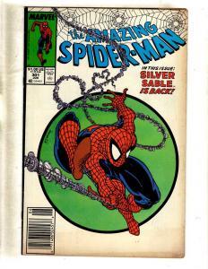 Amazing Spider-Man # 301 FN/VF Marvel Comic Book Venom Goblin Aunt May MJ J330