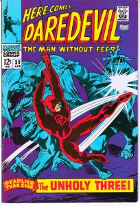 Daredevil(vol. 1) # 39 The Exterminator and The Unholy Three !