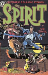 Spirit, The (8th Series) #9 FN; Kitchen Sink   save on shipping - details inside