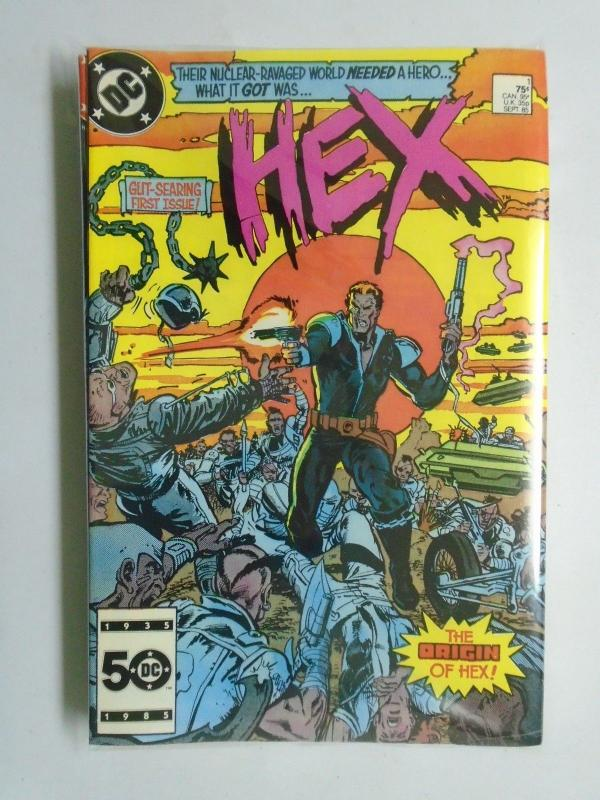 Hex (1985-1987 DC) #1-10 Run - 6.0-8.0 - 1985