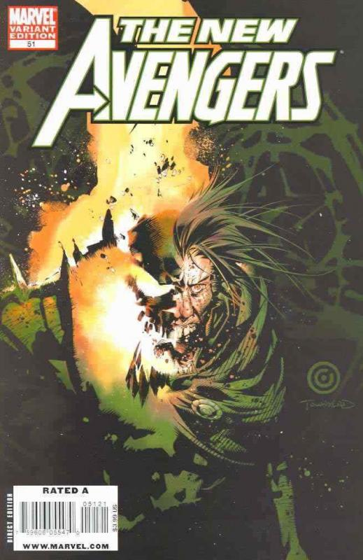 New Avengers #51A VF/NM; Marvel | combined shipping available - details inside