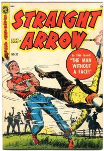 Straight Arrow #32 1953-Pedro Bombo- Golden Age Western-FRED MEAGHER VF