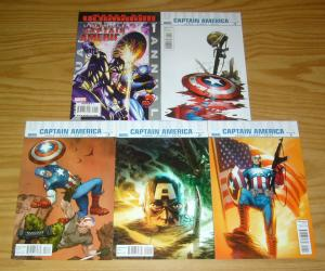 Ultimate Captain America #1-4 VF/NM complete series + annual - jason aaron set