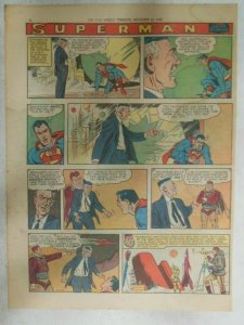 Superman Sunday Page #995 by Wayne Boring from 11/23/1958 Size ~11 x 15 inches