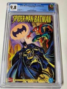 Spider-man & And Batman Disordered Minds Nn 1 Cgc 9.8 Marvel