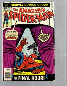 Amazing Spider-Man # 164 VF Marvel Comic Book MJ Vulture Goblin Scorpion TJ1