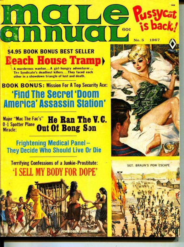 Male Annual-1967-Pussycat-POW-Tramps-Sex-Adventure