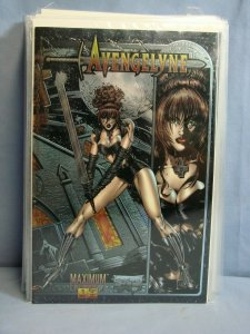 21 AVENGELYNE Comic Books Maximum Press 1996 Issues 1-14 VARIANTS & SWIMSUIT +++