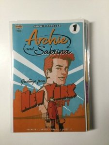 Archie and Sabrina 1 Variant Near Mint Archie Comics HPA