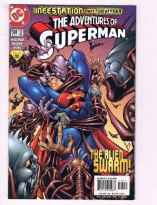 The Adventures Of Superman #591 VF DC Comics Comic Book 2000 DE11