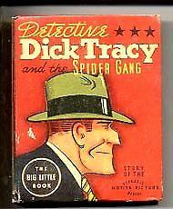 DICK TRACY #1446-BIG LITTLE BOOK 1937 VG