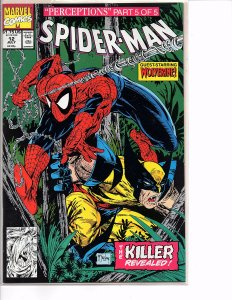 Marvel Comics Spider-Man #12 Todd McFarlane Story & Art Wendigo Wolverine Part 5
