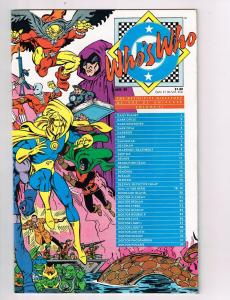 Who's Who The Definitive Directory of the DC Universe #6 Comic Book HH2