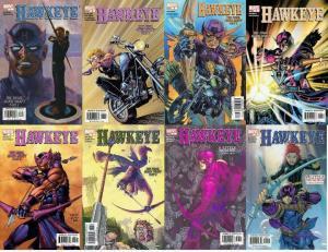 HAWKEYE (2003) 1-8  the COMPLETE series!