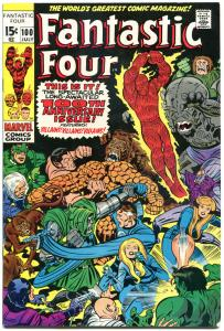 FANTASTIC FOUR #100, FN/VF, Pupper Master, Jack Kirby, 1961, more in store, QXT