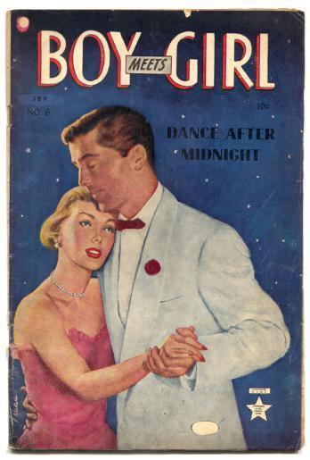 Boy Meets Girl #6 1950- Canadian edition- Dance After Midnight VG