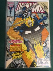 Darkhawk #22 featuring Ghost Rider