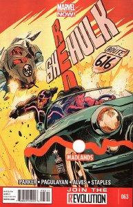 RED SHE-HULK  (2012 Series) #63 Very Fine Comics Book