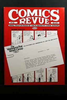 Comics Revue #36 1989 Bloom County AIDS Strips