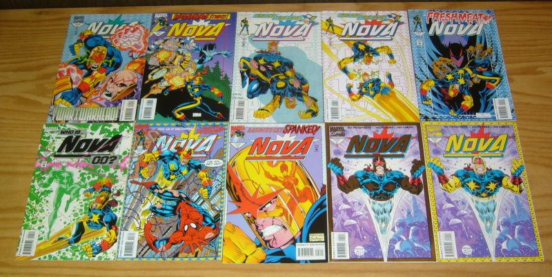 Nova #1-18 VF/NM complete series + variant marvel comics/guardians of the galaxy