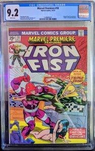Marvel Premiere #18 (1974) CGC 9.2