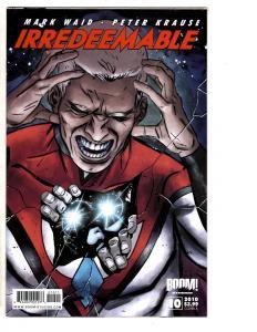 4 Irredeemable Boom! Comic Books # 10 11 12 13 Mark Waid Peter Krause MS10