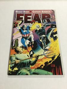 Fear Ghost Rider Captain America Nm Near Mint Marvel