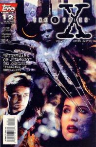 X-Files (1995 series) #12, NM- (Stock photo)