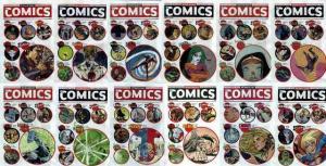WEDNESDAY COMICS (2009) 1A,2-12 COMICS BOOK