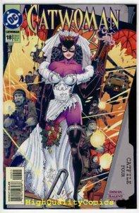 CATWOMAN #18, NM+, Jim Balent, Femme Fatale,Dixon,1993, Here Comes the Bride
