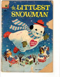 Four Color # 755 GD Dell Golden Age Comic Book Feat. Littlest Snowman JL8
