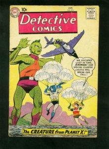 DETECTIVE COMICS #270 1959-BATMAN-ROBIN-JOHN JONES-PARACHUTE COVER-g/vg G/VG