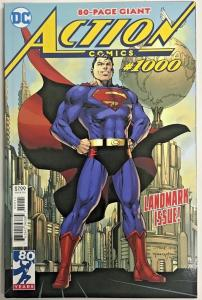 ACTION COMICS#1000 NM  2018 SUPERMAN DC COMICS