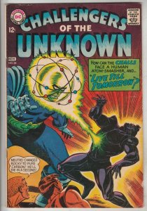 Challengers of the Unknown #58 (Nov-67) FN/VF Mid-High-Grade Challengers of t...