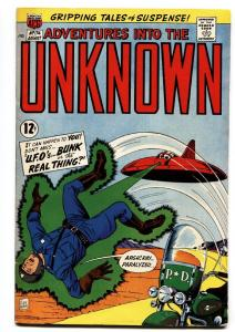 ADVENTURES INTO THE UNKNOWN #174 comic book-1967-FLYING SAUCER-CVR