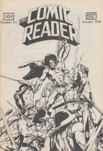 Comic Reader, The #111 VF; Street Enterprises   save on shipping - details insid