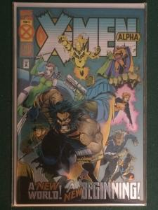 X-Men Alpha #1 Metallic/Reflective cover Age of Apocalypse AOA