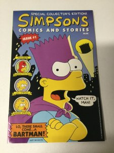Simpsons Comics And Stories 1 Vf Very Fine 8.0