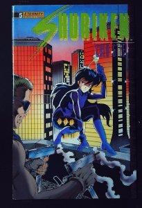 Shuriken: Cold Steel #5 (1989)