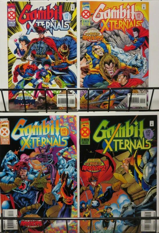 GAMBIT & THE X TERNALS 1-4  X-Men Age Of Apocalypse