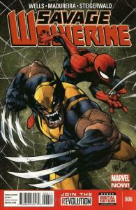 Savage Wolverine #6 VF/NM; Marvel | save on shipping - details inside