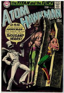 ATOM 44 VG Sept 1969 Kubert COMICS BOOK