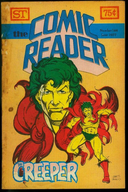 The Comic Reader Fanzine #144 1977- Creeper cover FR/G