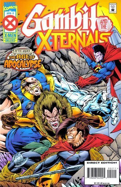 gambit and the x-ternals comics  # 1,2,3,4   age of apocalypse  AFTER XAVIER