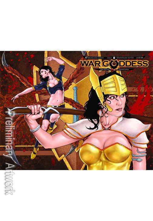 War Goddess #8A VF/NM; Boundless | save on shipping - details inside