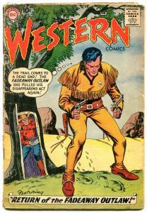 Western Comics #73 1959- Nighthawk- Pow-Wow Smith G+